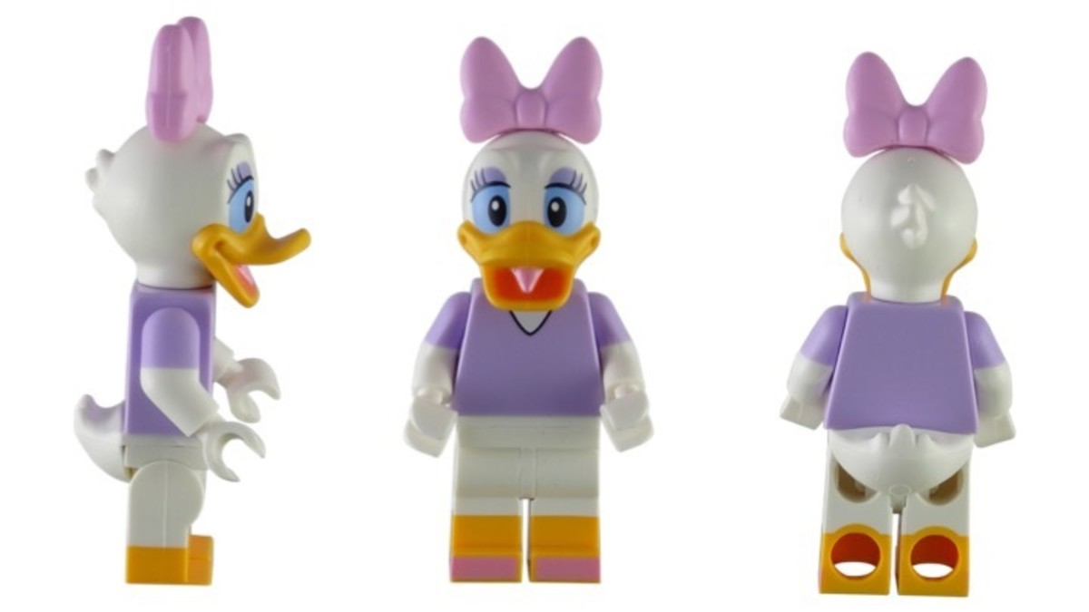 LEGO Disney Daisy Duck Minifigure 71012-9