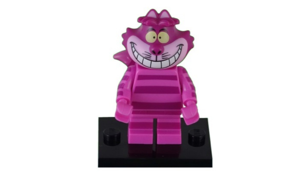 LEGO Disney Cheshire Cat Minifigure 71012-8