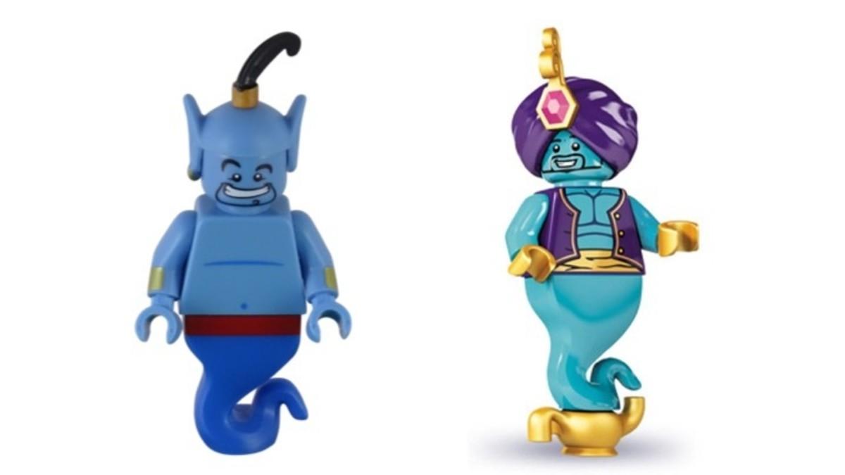 LEGO Genie Minfigure CMF Comparison