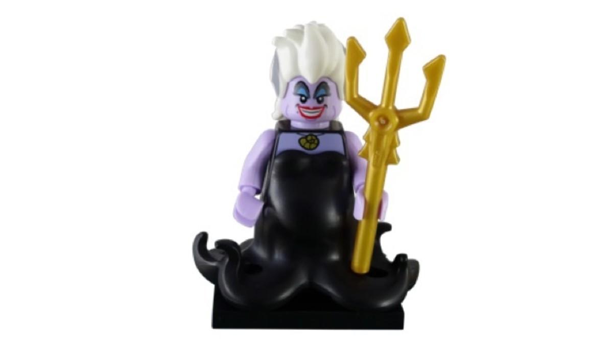 LEGO Disney Ursula Minifigure 71012-17 Complete