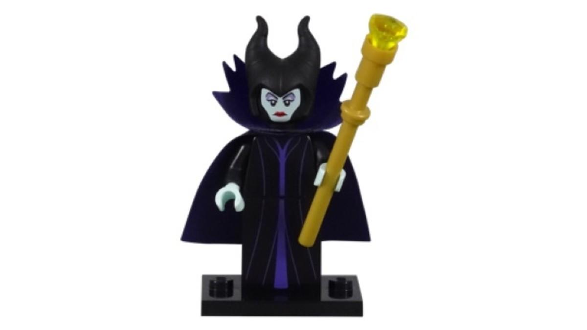 LEGO Disney Maleficent Minifigure 71012-6 Complete