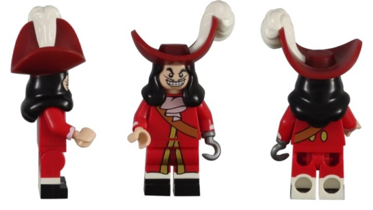 LEGO Disney Captain Hook Minifigure 71012-16