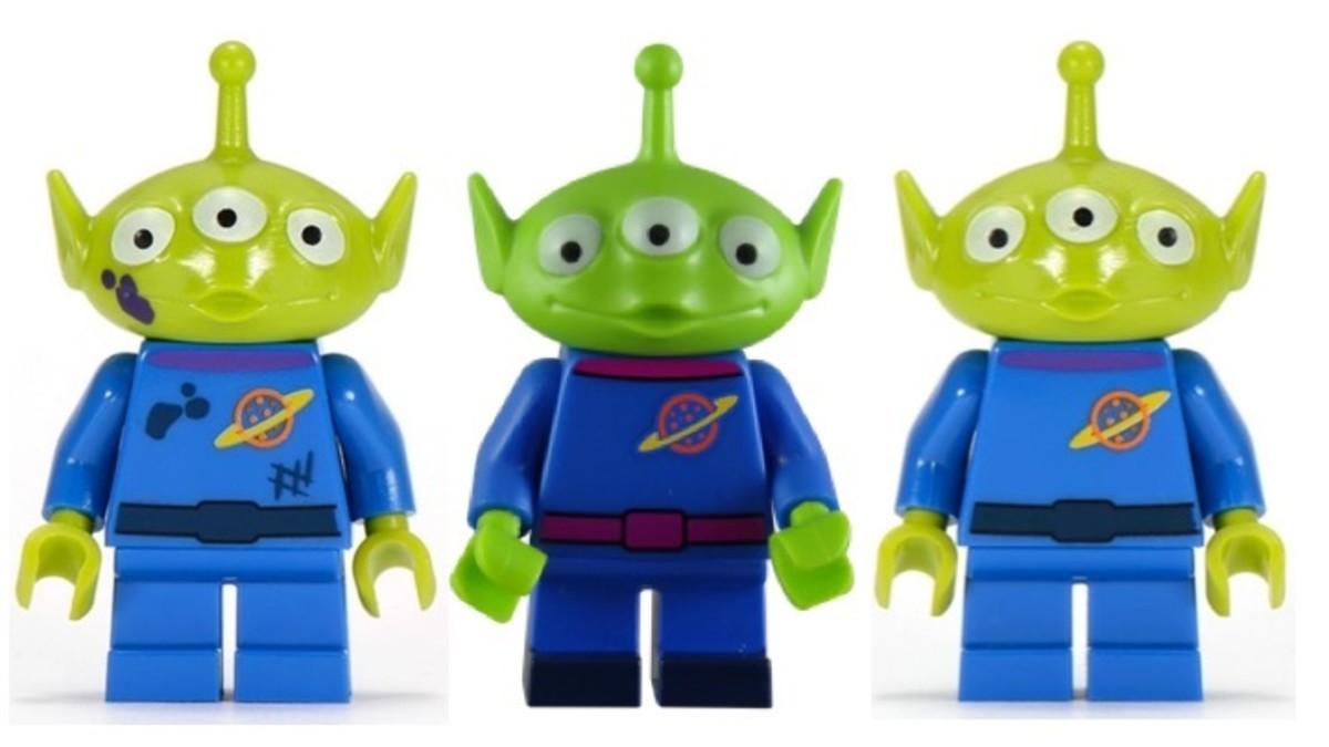 LEGO Disney Toy Story Alien Comparison