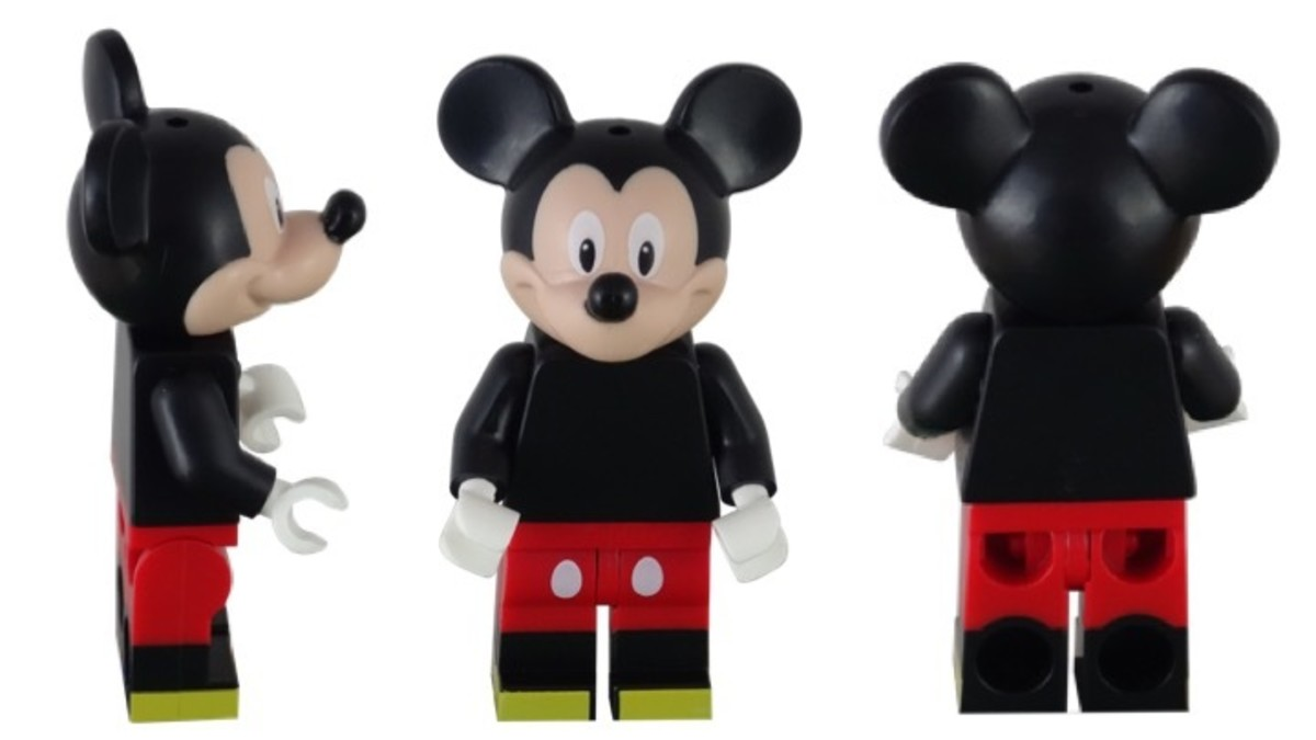 LEGO Disney Mickey Mouse Minifigure 71012-12