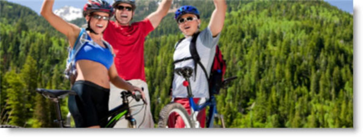 Biking trails in Oregon