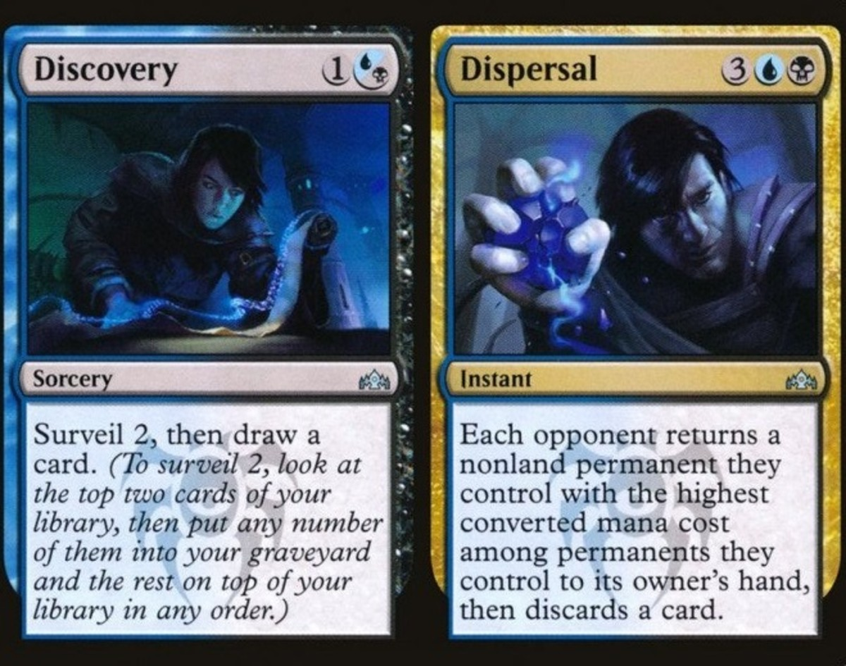 Discovery // Dispersal mtg