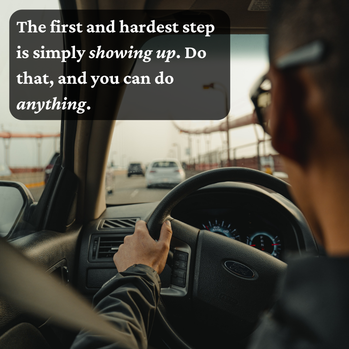 Getting there is often the hardest part, but it's also the most important!