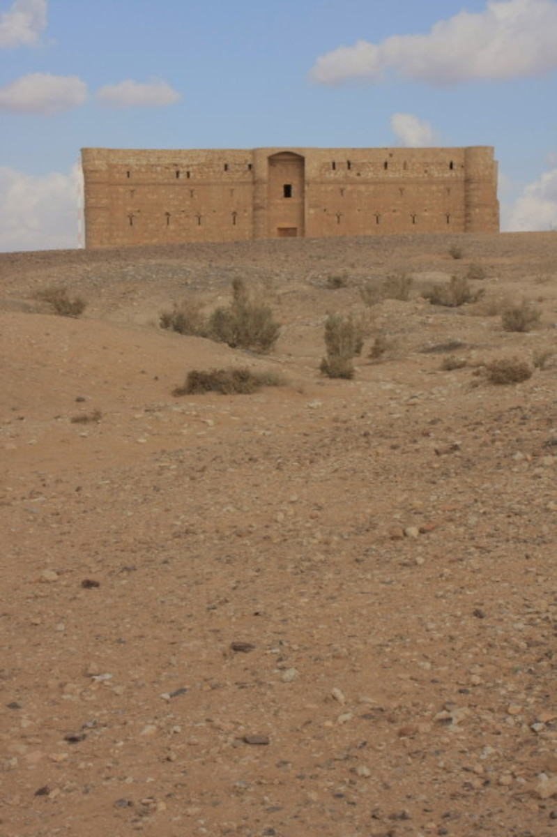 Qasr al-Kharrana - one of the desert castles