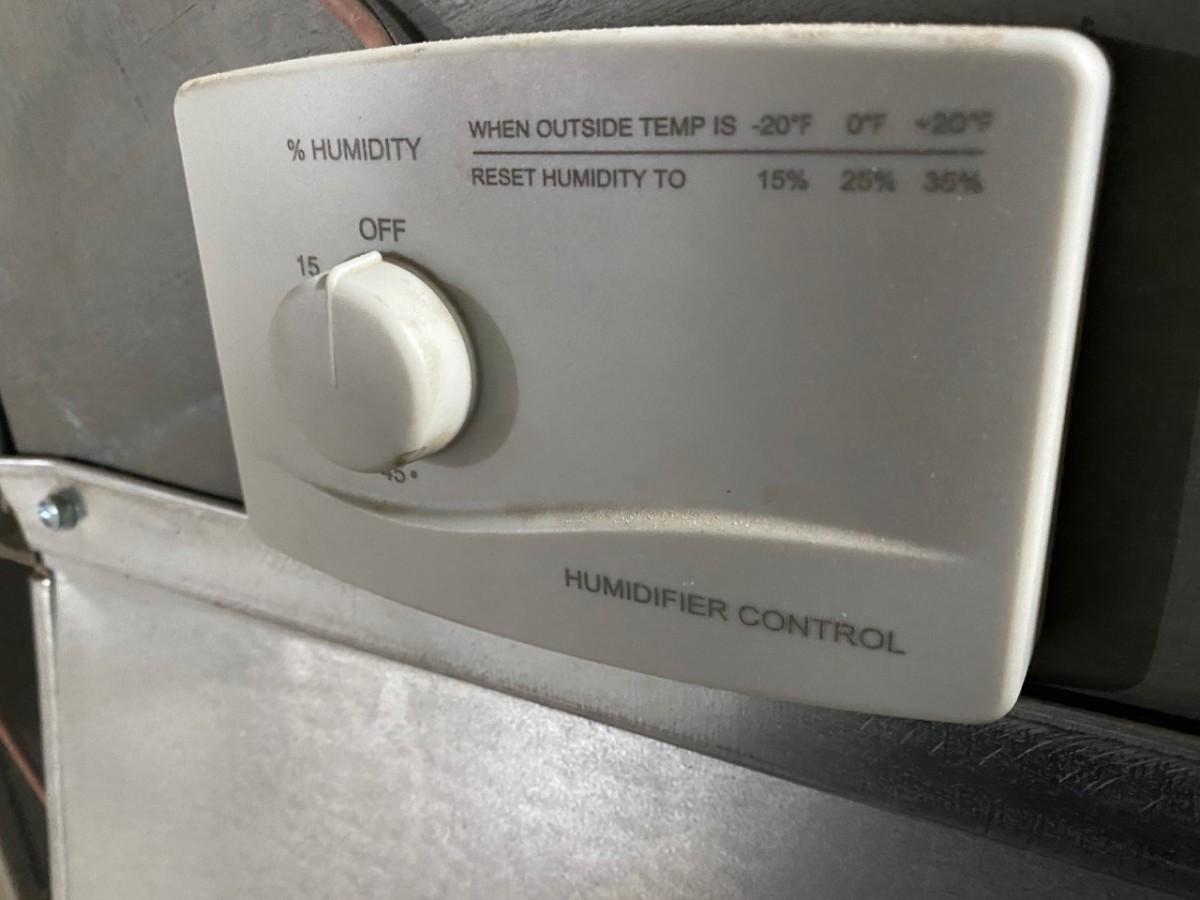 Typical humidistat