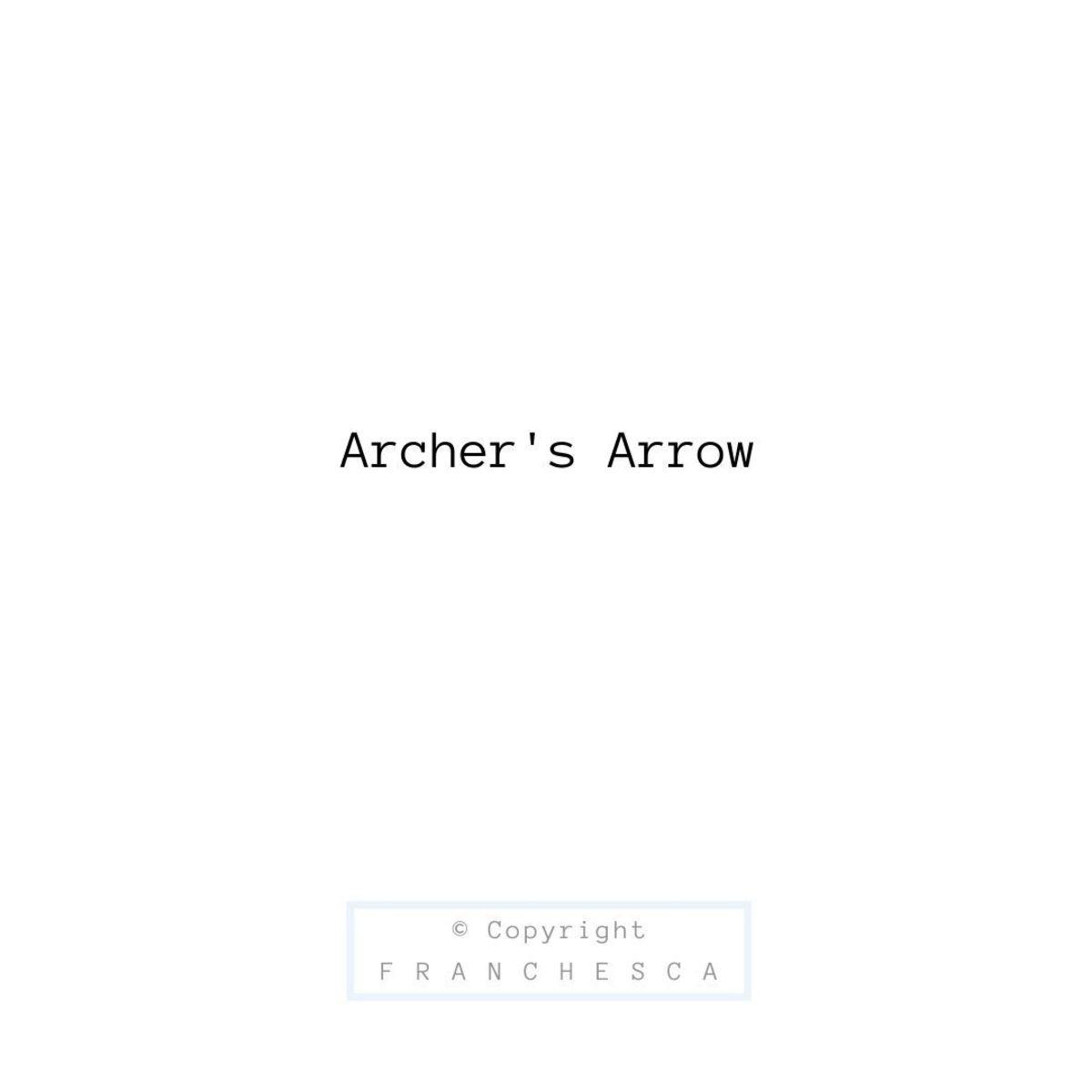 6th Article: Archer's Arrow