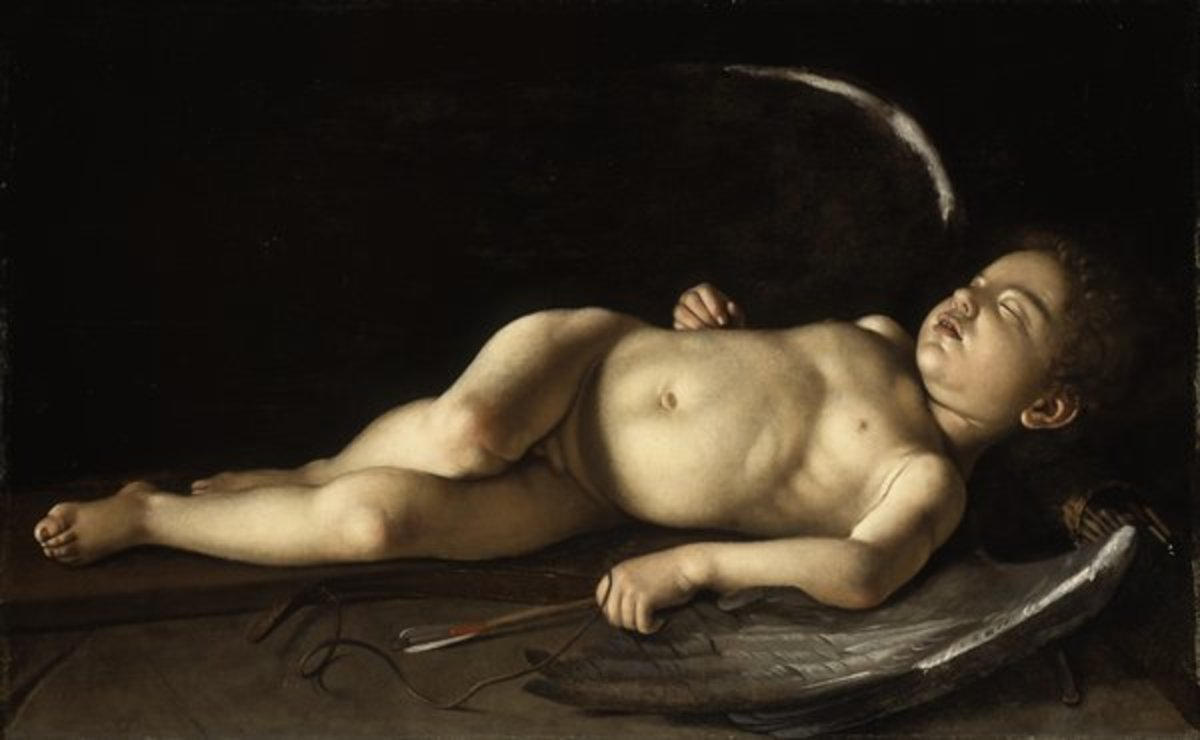 """Sleeping Cupid"" by Caravaggio"