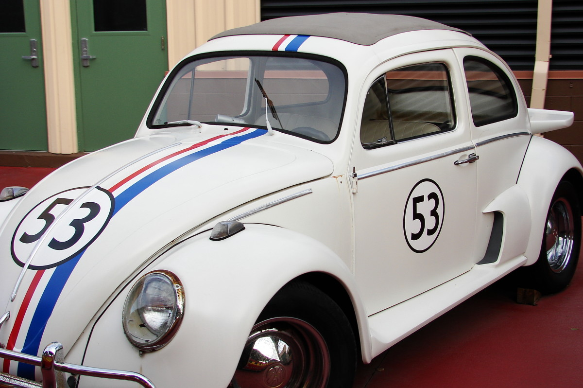 Classic Old European Cars - VW Beetle Bug, Renault and the Fico