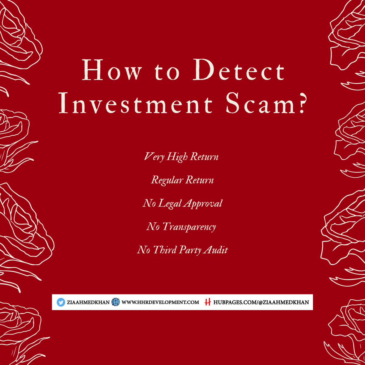 How to Detect Scams
