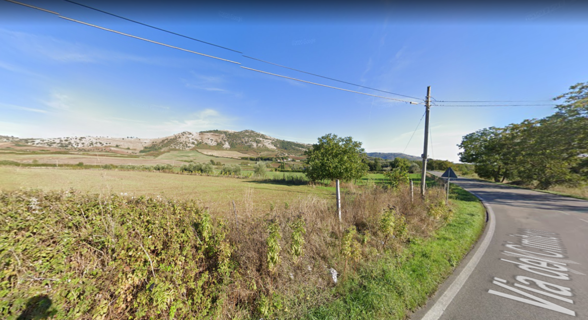 A modern look at the road to Valmontone. (SP81a)