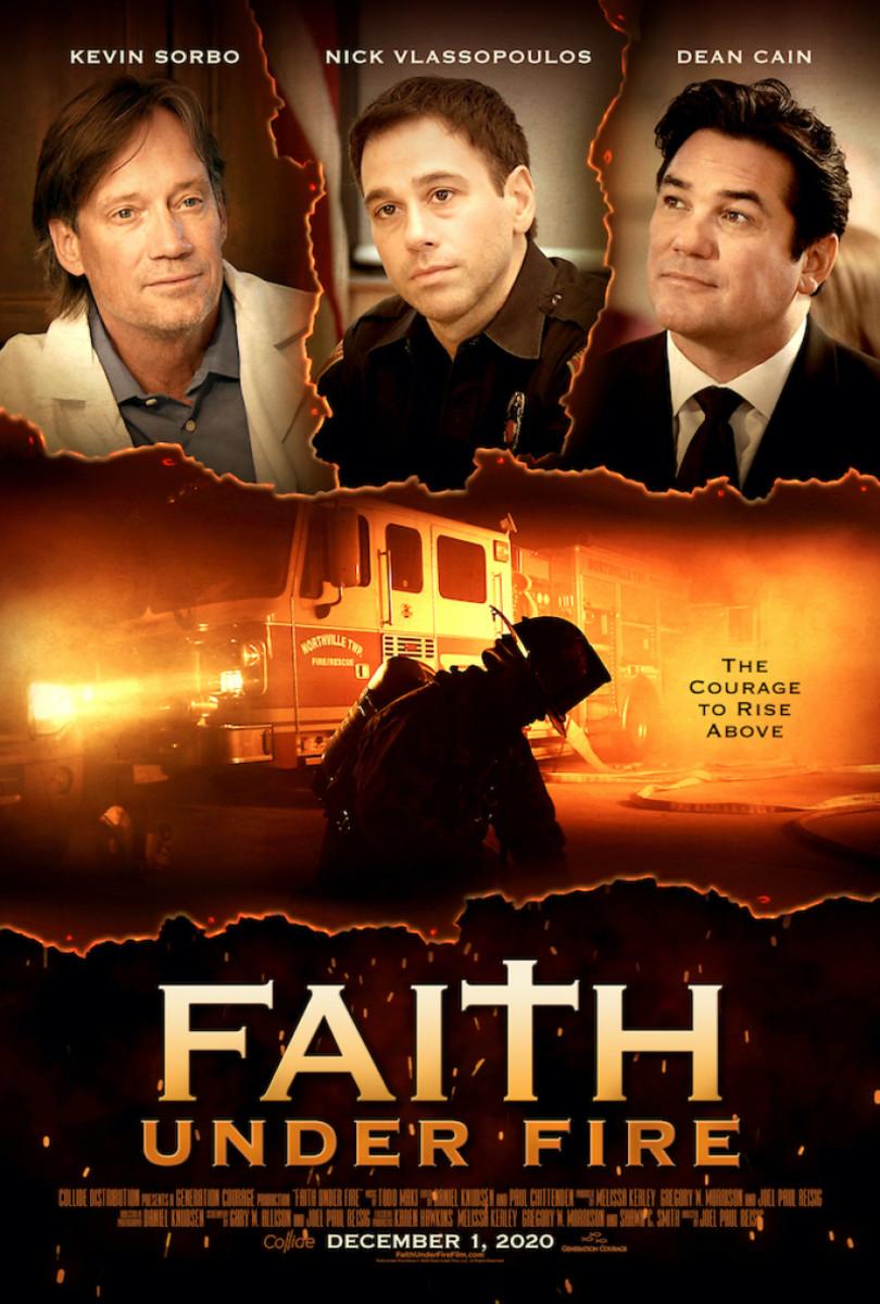 Faith Under Fire... because he's a fireman, ya see?