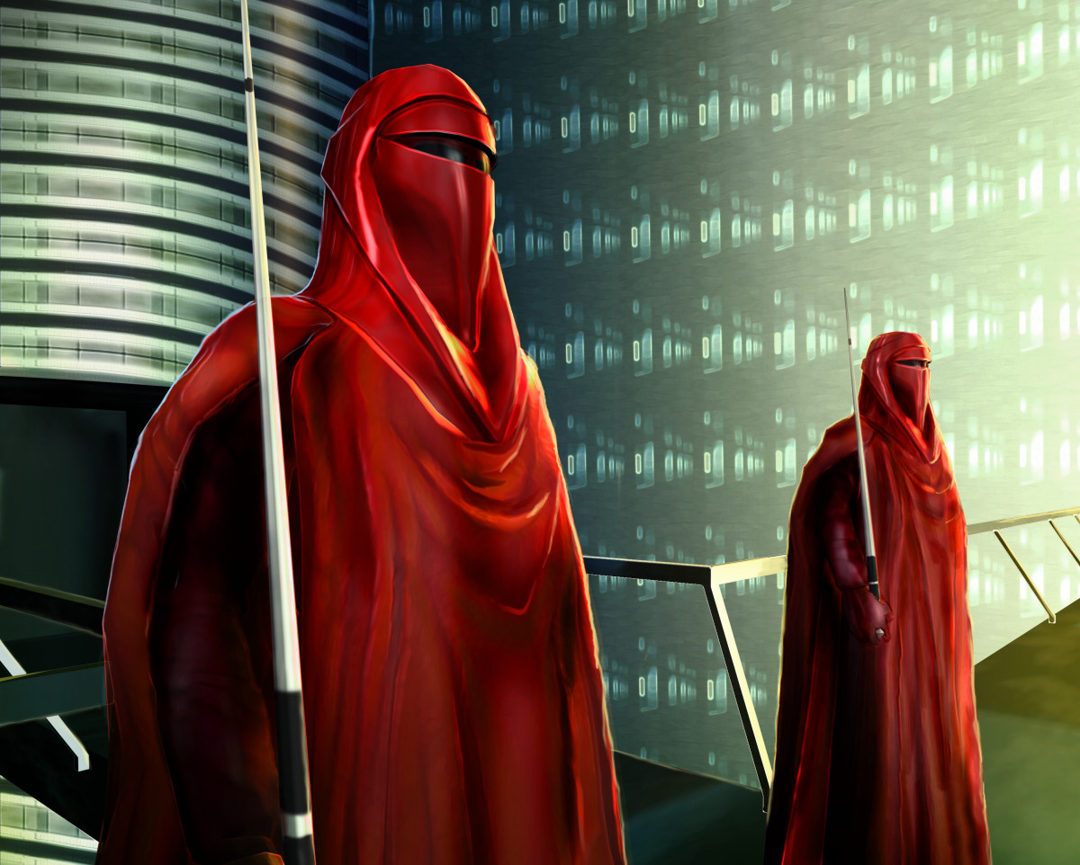Royal Guards in Star Wars