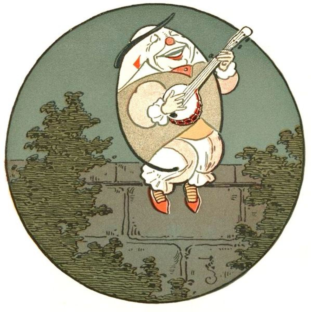 Humpty Dumpty is just one example of a couplet out of many that can be found in nursery rhymes.