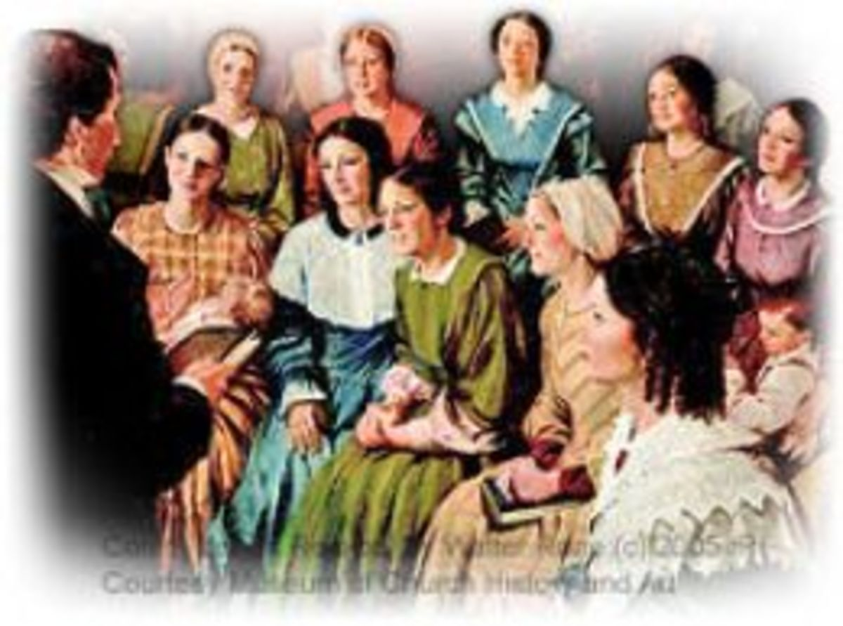 The Organization of The Female Relief Society of Nauvoo