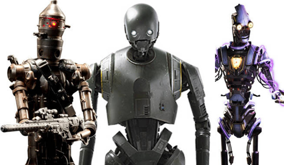 Droids in Star Wars