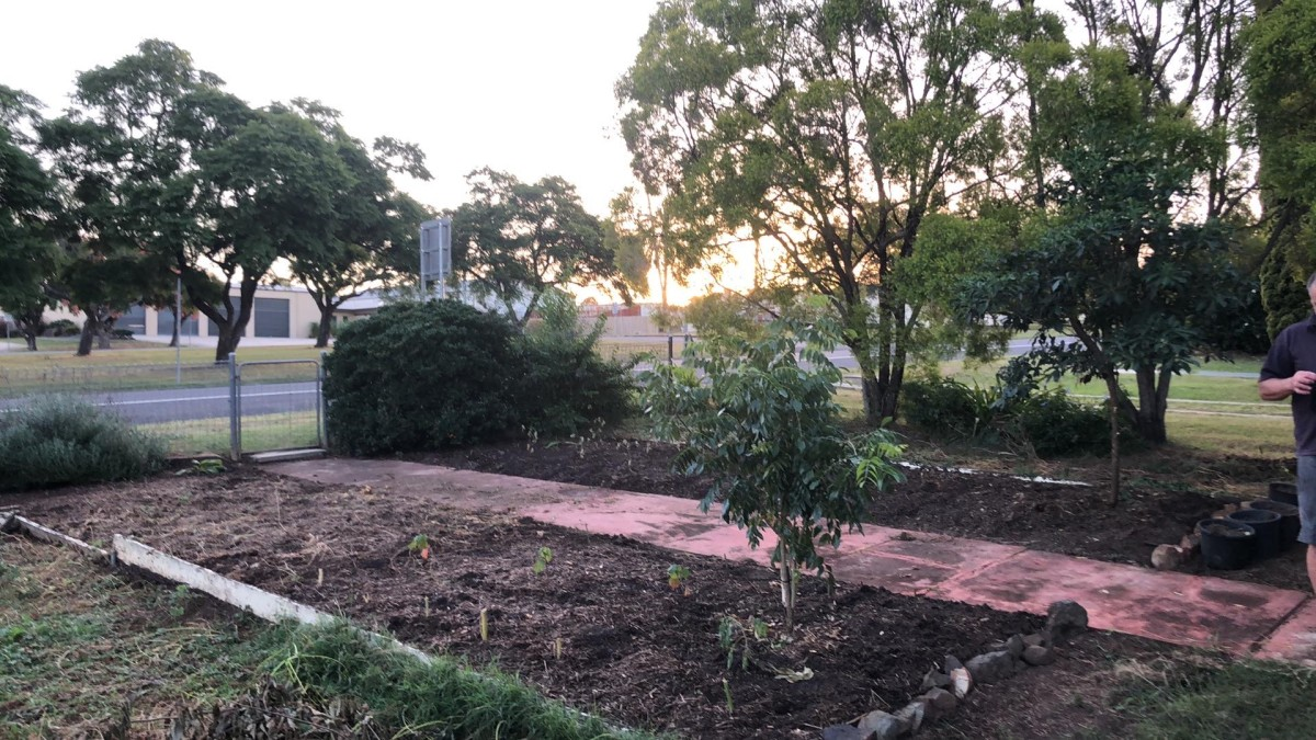 After: Front garden