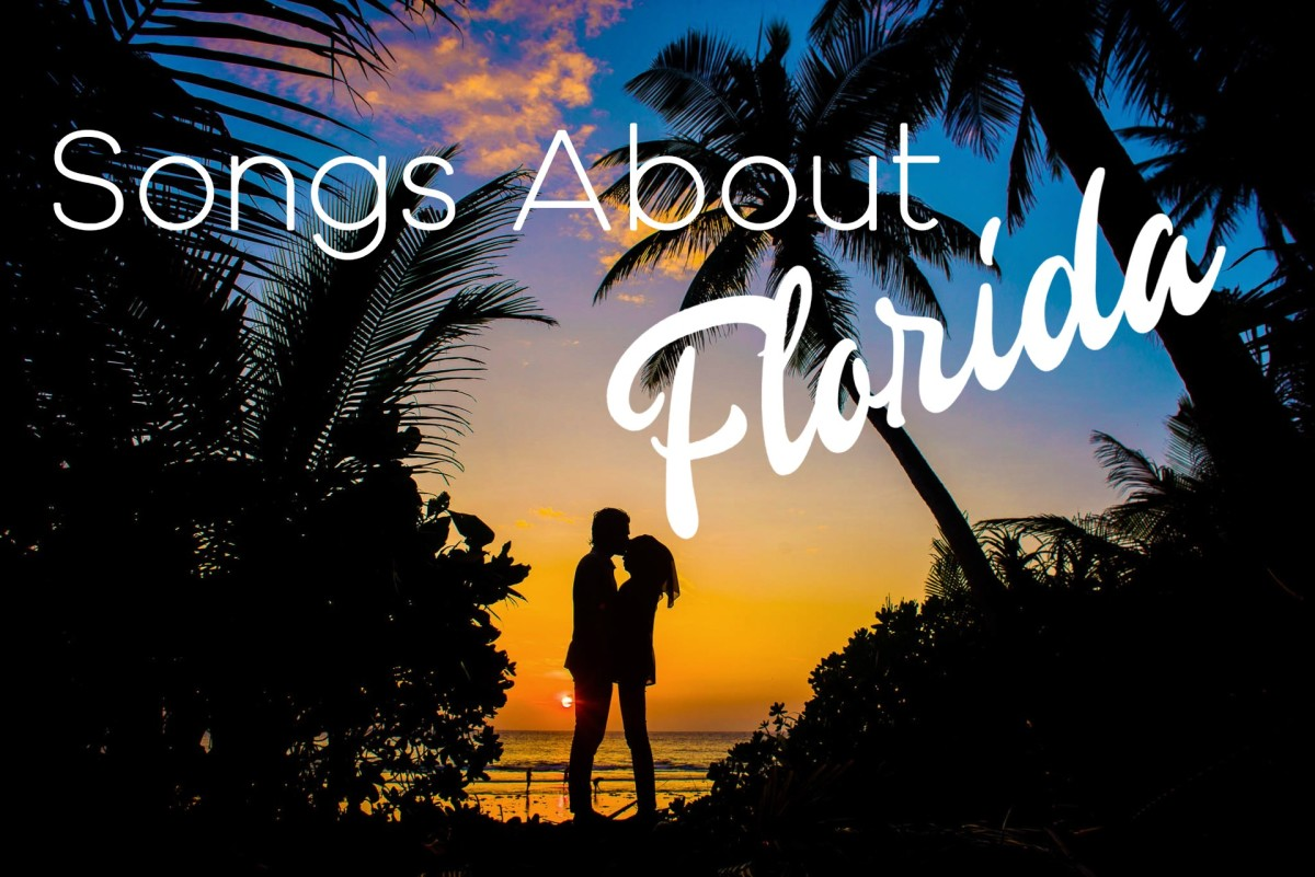 Celebrate sunny Florida with a playlist of pop, rock, and country music. Songs give shout outs to locations like Key Largo, the Everglades, Miami, Gainesville, Tampa, Panama City, Jacksonville, Daytona, Key West, and more.