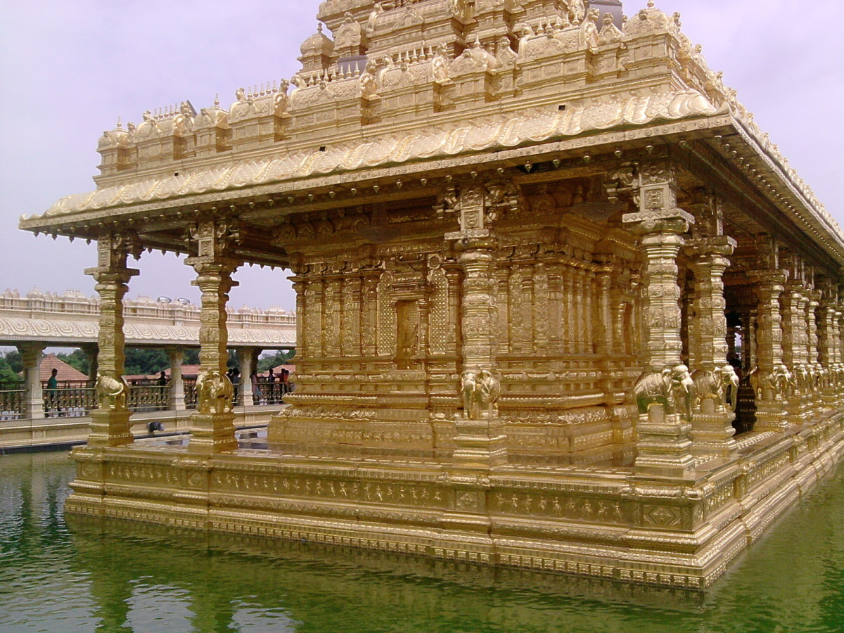 Golden Temple, Sripuram
