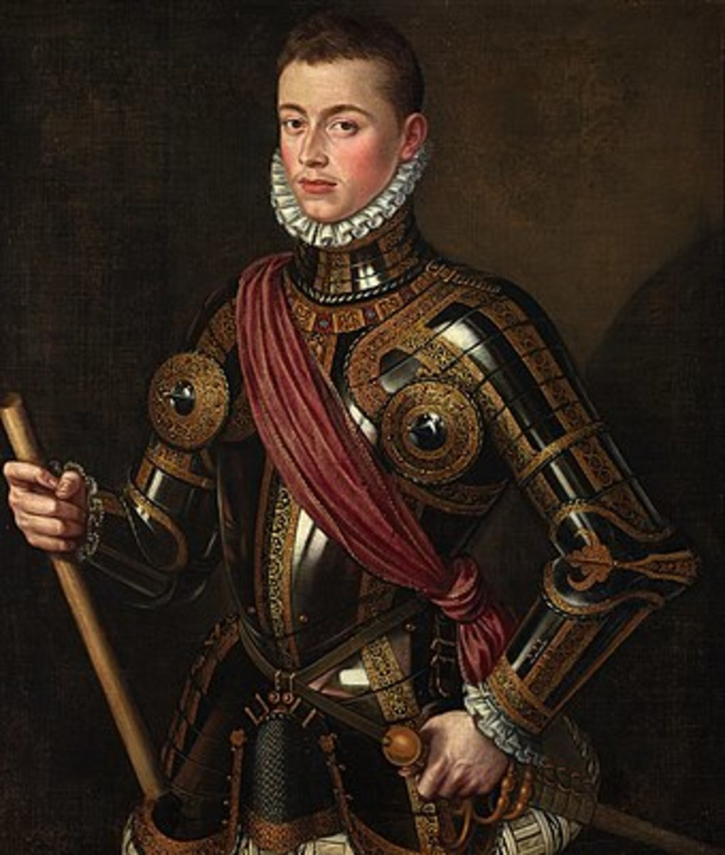 John of Austria, the admiral of the Holy League.