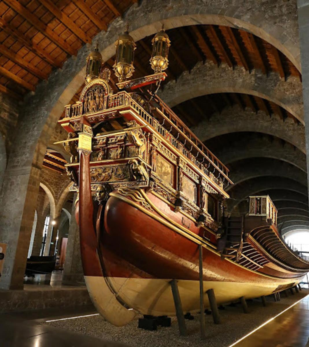 John of Austria's ship, La Real.