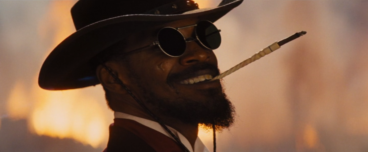 The film is deliberately anachronistic and shot with Tarantino's usual flair. But the film is deeper than it initially appears, making this more than just a bloody western.