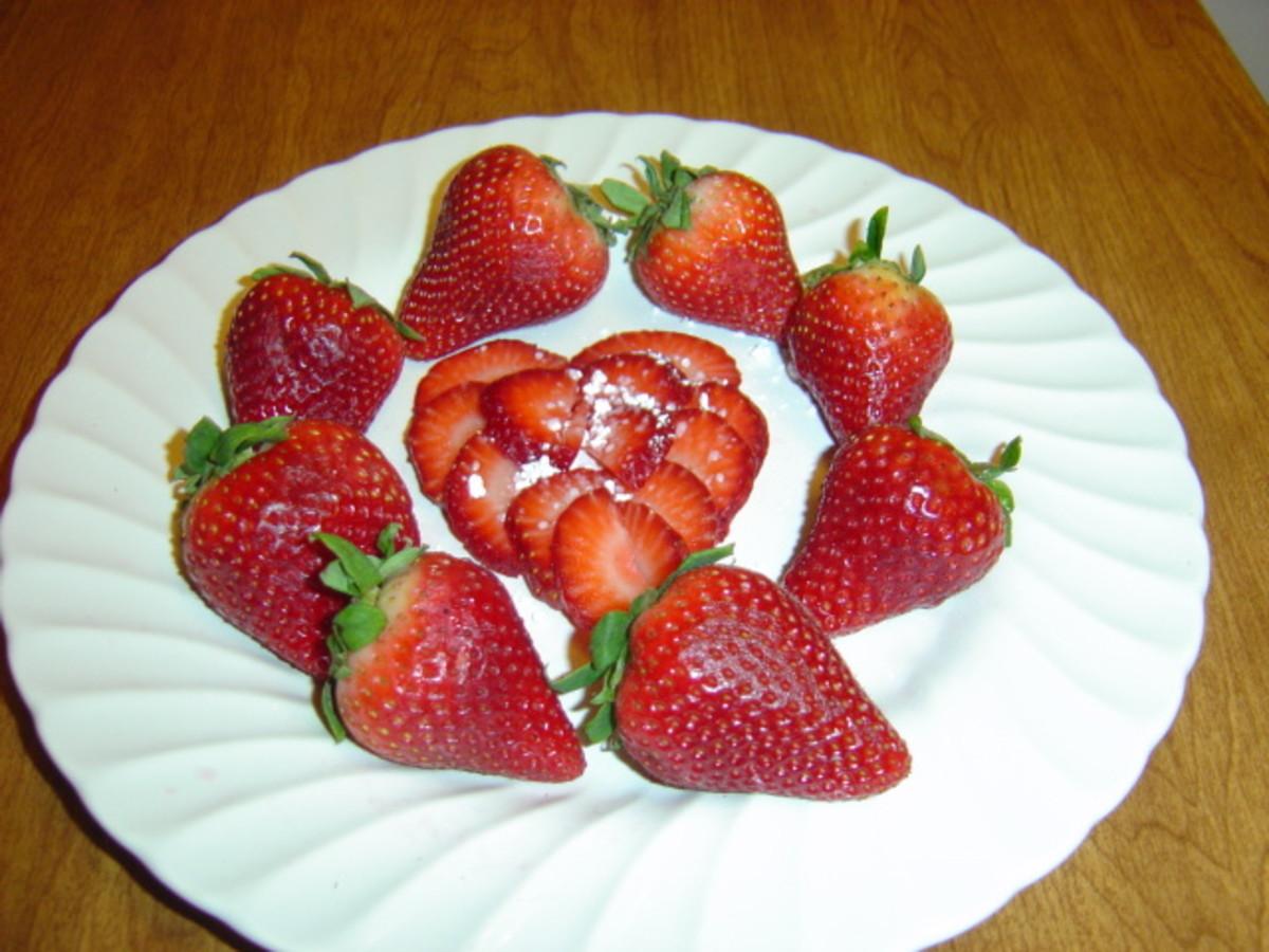 Strawberries are low in potassium
