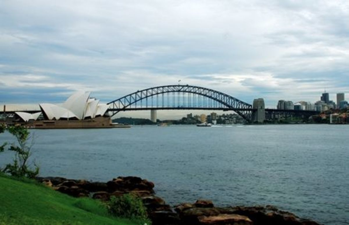 Mrs Macquaries point at the far end of the Royal Botanic Gardens is the perfect place to get your Iconic Sydney shot