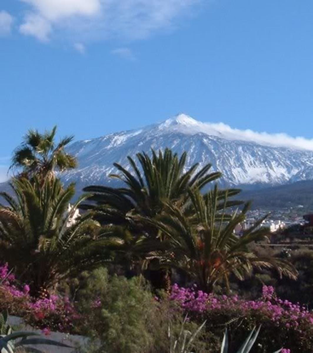 Mt Teide - highest mountain in the Canary Islands and mainland Spain