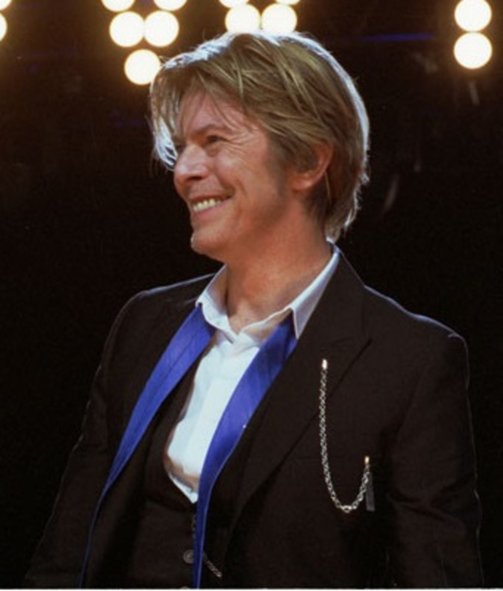 Bowie the singer, song-writer, actor.......
