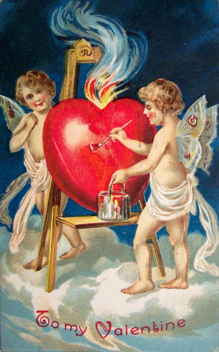 Valentine's Day: Image, Purpose and History; Sending Cards; Poem; Bowie's Song
