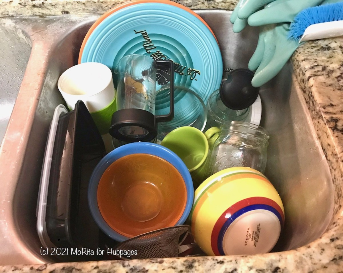 The storage sink doesn't need to be gross!