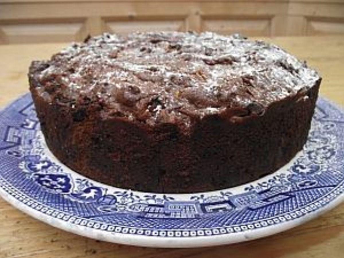 Healthy Cake from my recipe box