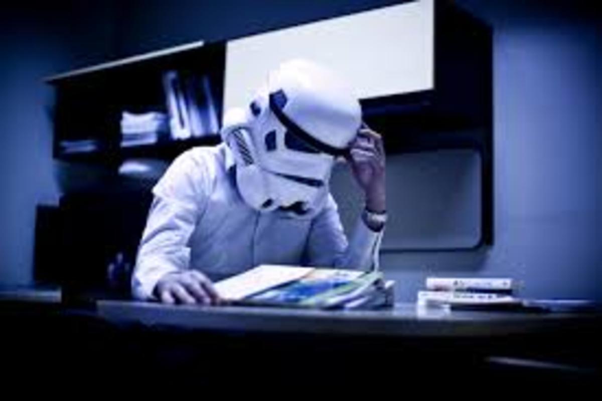 Stormtrooper Working