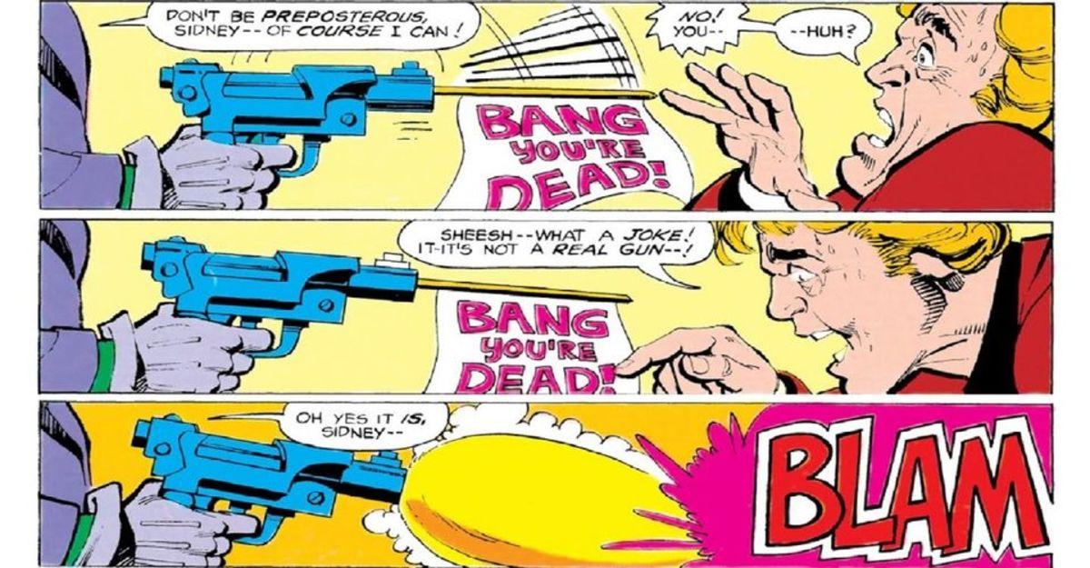 Joker Kills his Henchman