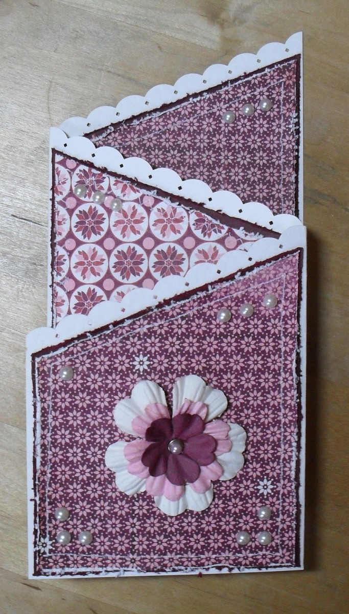 You can make this card in just a few simple steps