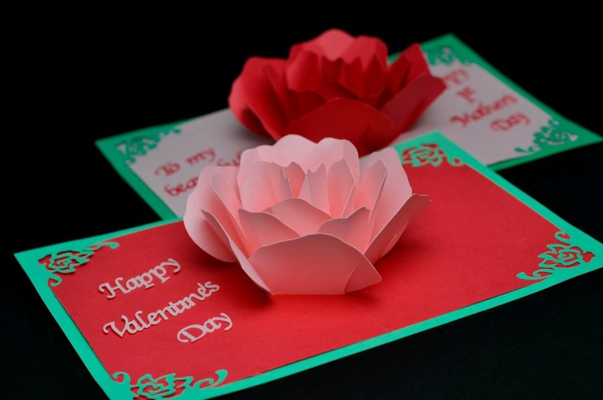 Pop up cards hold a secret surprise inside