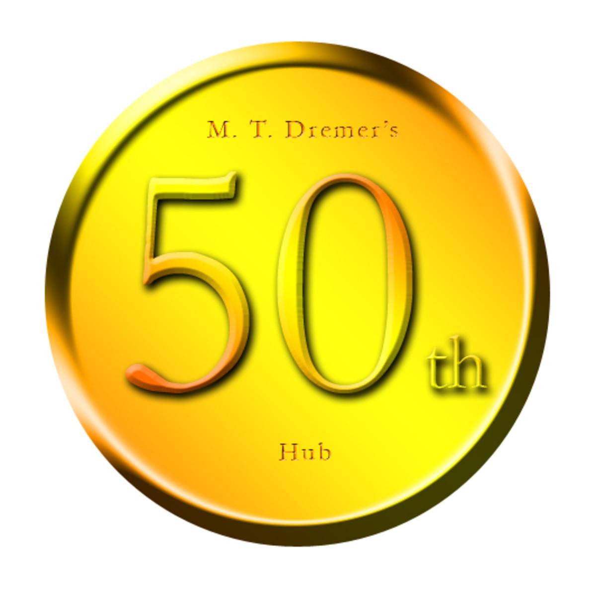 My 50th Hub Confessional