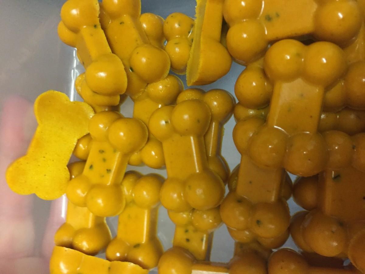 Turmeric gummies - low fat and tasty