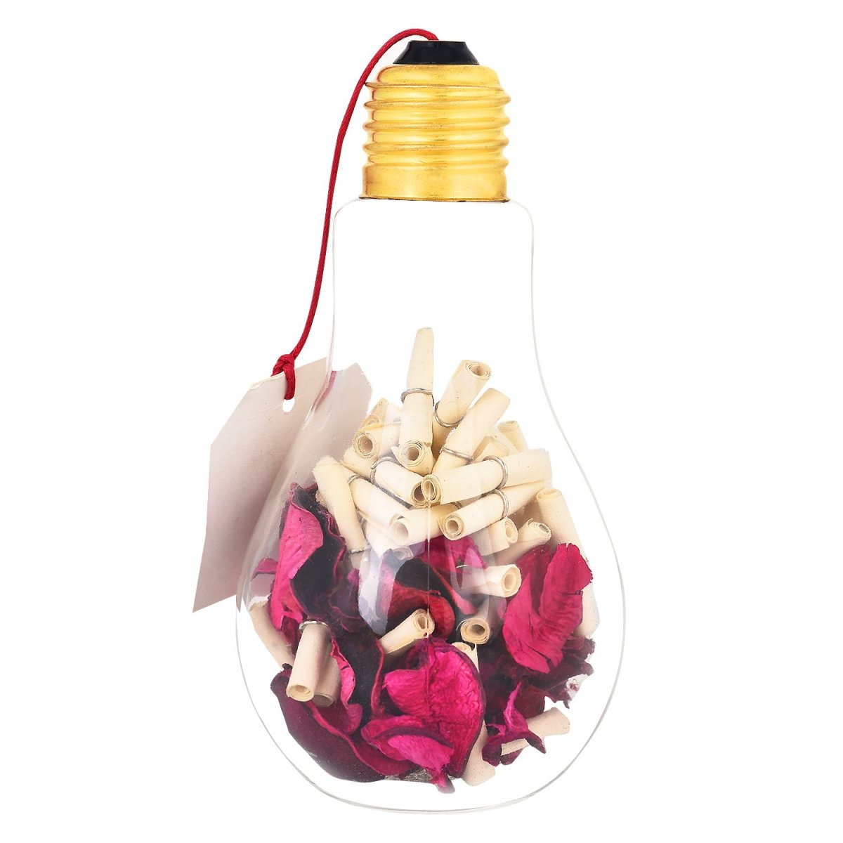 A message in a bulb