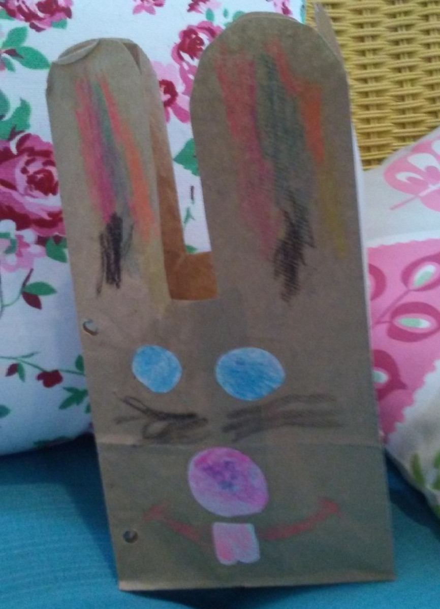 Making bunny bags each year is a fun and creative new tradition for the family.