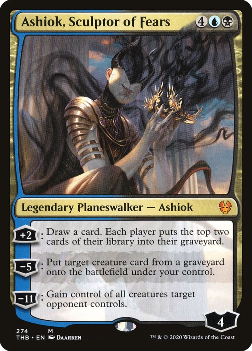 Ashiok, Sculptor of Fears mtg