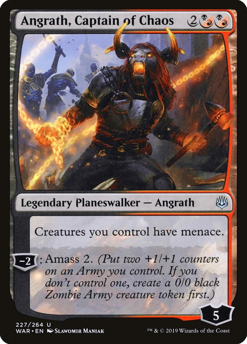 Angrath, Captain of Chaos mtg