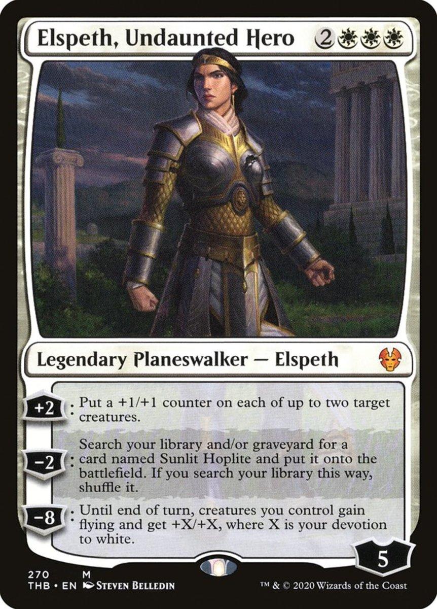 Elspeth, Undaunted Hero mtg
