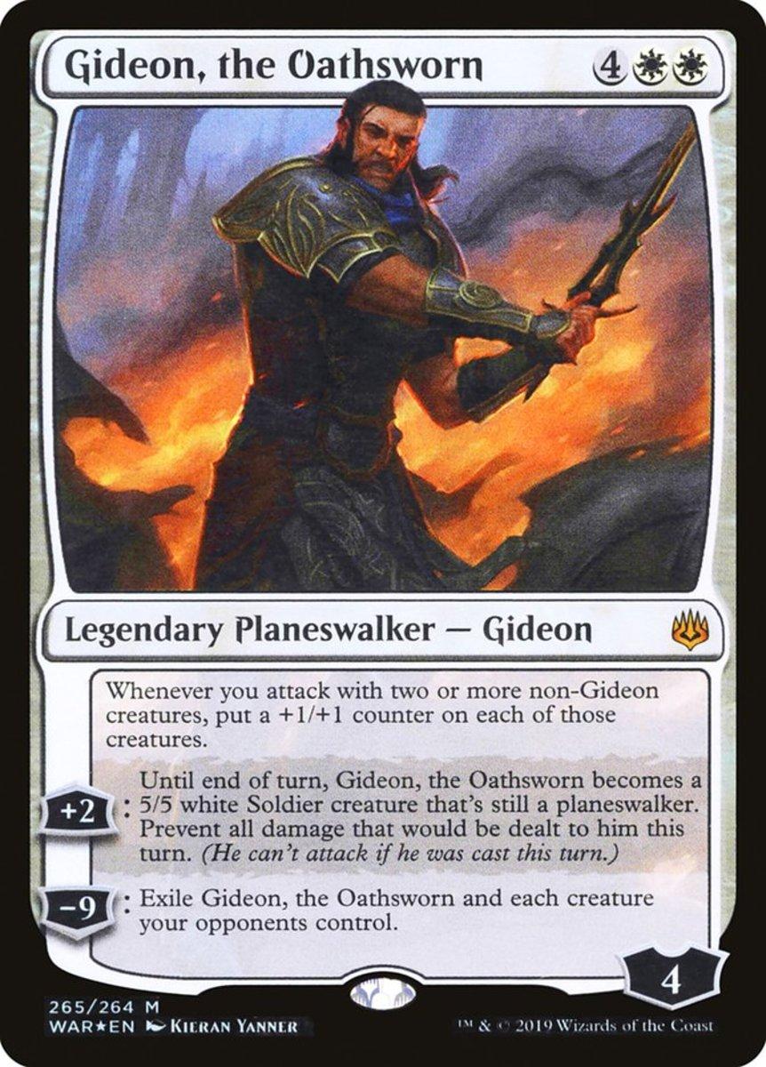 Gideon, the Oathsworn mtg