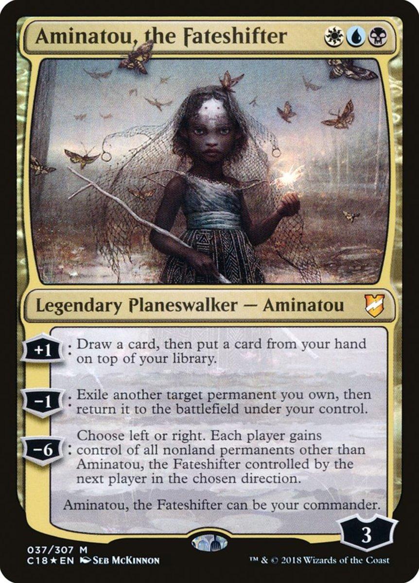 Aminatou, the Fateshifter mtg