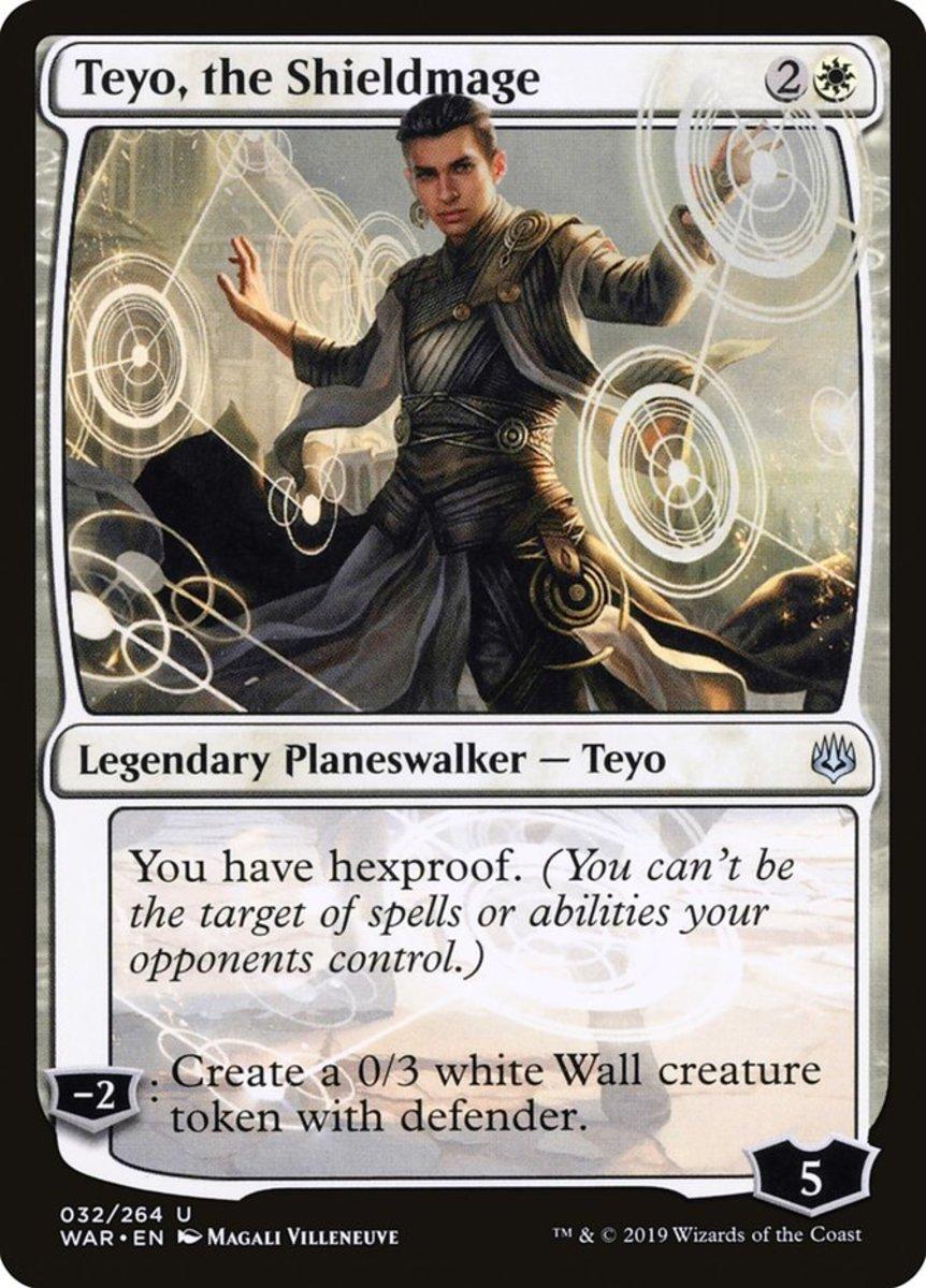 Teyo, the Shieldmage mtg